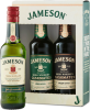 Jameson Irish Whiskey Gift Pack 3 x 200 ml