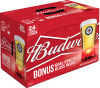 Budweiser Winnipeg Jets Pack with Red Light Goal-synced Glass Incase 24 x 355 ml