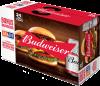Budweiser with M&M Burger Coupon Incase  24 x 355 ml