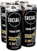Social Lite Pineapple Mango 4 x 355 ml