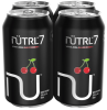 NUTRL 7 VODKA SODA BLACK CHERRY 4 x 355 ml