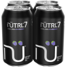 Nutrl Vodka Soda 7% Blackberry 4 x 355 ml