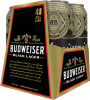 BUDWEISER BLACK LAGER 4 x 473 ml