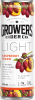 Growers Light Raspberry Peach 4 x 355 ml