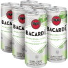 Bacardi - Rum & Soda with Lime 6 x 355 ml