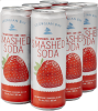 GEORGIAN BAY - STRAWBERRY SMASHED SODA 6 x 355 ml