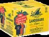 WATERLOO BREWING LANDSHARK PREMIUM LAGER W/T-SHIRT PROMO 24 x 355 ml