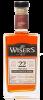 JP WISER'S 22YO CASK STRENGTH PORT CASK FINISH CANADIAN WHISKY 750 ml