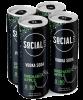 SOCIAL LITE ORCHARD APPLE VODKA SODA 4 x 355 ml