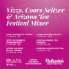 Vizzy, Coors Seltzer & Arizona Tea Festival Mixer 6 x 355 ml