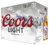 Coors Light 12 x 341 ml